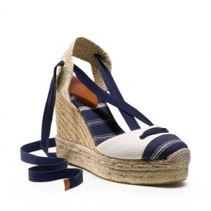 Coach ESPADRILLE WEDGE SANDAL ( NEW ) 💙
